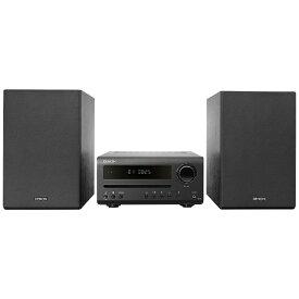 デノン Denon CDレシーバーシステム DT1K [ワイドFM対応 /Bluetooth対応 /ハイレゾ対応][CDコンポ DT1K]