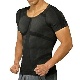 イッティ ITTY 加圧シャツ パンプマッスルビルダーTシャツ ハードタイプ(Lサイズ/ブラック)ヒロミプロデュース KTSBKLHD