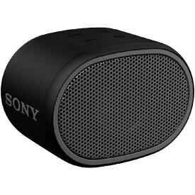 ソニー SONY ブルートゥース スピーカー SRS-XB01BC ブラック [Bluetooth対応 /防水][ソニー ワイヤレススピーカー SRSXB01BC]