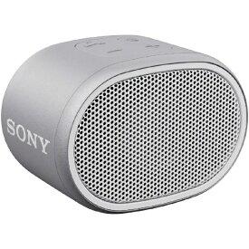 ソニー SONY ブルートゥース スピーカー ホワイト SRS-XB01WC [Bluetooth対応][ソニー ワイヤレススピーカー SRSXB01WC]
