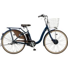 ブリヂストン BRIDGESTONE 26型 電動アシスト自転車 フロンティアデラックス(E.Xノーブルネイビー/内装3段変速)F6DB49【2019年モデル】【組立商品につき返品不可】【b_pup】 【代金引換配送不可】