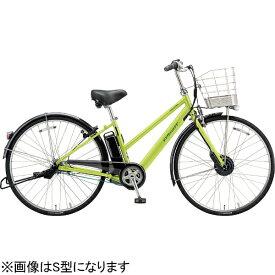 ブリヂストン BRIDGESTONE 27型 電動アシスト自転車 アルベルトe B400 L型(T.ネオンライム/内装5段変速) AL7B49【2019年モデル】【組立商品につき返品不可】 【代金引換配送不可】