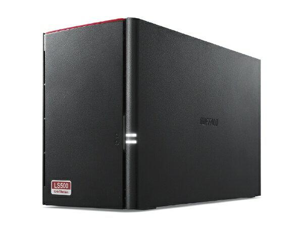 BUFFALO バッファロー ネットワークHDD Link Station 2ベイ 8TB LS520D0802G [据え置き型][LS520D0802G]