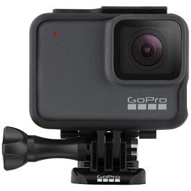 GoPro ゴープロ マイクロSD対応 4Kムービー ウェアラブルカメラ GoPro(ゴープロ) HERO7 シルバー CHDHC-601-FW [4K対応 /防水][ゴープロ ヒーロー7 gopro7 CHDHC601FW]