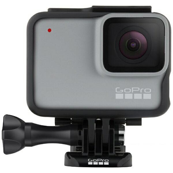 GOPRO マイクロSD対応 フルハイビジョンムービー ウェアラブルカメラ GoPro(ゴープロ) HERO7 ホワイト CHDHB-601-FW [フルハイビジョン対応 /防水][ゴープロ ヒーロー7 CHDHB601FW]