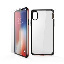 ITSKINS × MiraiSell iPhone2018 6.1inch用 液晶保護ガラス付き耐衝撃ケース MSIT-P861ERG ローズゴールド