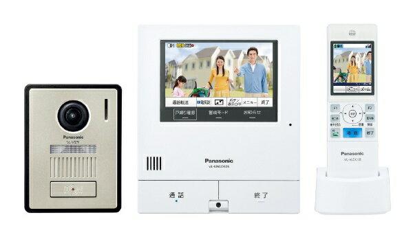 パナソニック Panasonic ワイヤレスモニター付きカラーテレビドアホン 「外でもドアホン」(電源コード式/直結式兼用) VL-SWD505KF[VLSWD505KF]