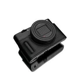 GARIZ ゲリズ GARIZ SONY RX100 VI (DSC-RX100M6) 用 本革カメラケース HG-RX100M6BLK ブラック HG-RX100M6BLK ブラック[HGRX100M6BLK]