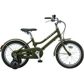 ブリヂストン BRIDGESTONE 16型 子供用自転車 HYDEE ハイディキッズ(T.Yカーキ/シングルシフト)HY16【2019年モデル】【組立商品につき返品不可】 【代金引換配送不可】