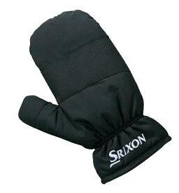 ダンロップ スリクソン DUNLOP SRIXON ミトン 片手用(左右使用可:フリーサイズ/ブラック) SMG8773