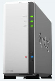 SYNOLOGY シノロジー NASキット【HDD/SSD無】2.5/3.5インチ 1台[有線LAN /USB2.0 /SATA] DiskStation DS119j [据え置き型][DS119J]