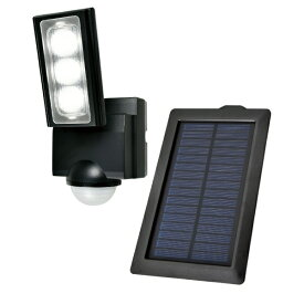 ELPA エルパ ソーラー発電式 LEDセンサーライト ESL-311SL [白色 /ソーラー式]