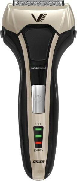泉精器 Izumi products IZF-V558-N メンズシェーバー S-DRIVE ソリッドシリーズ ゴールド [4枚刃 /国内・海外対応][IZFV558]