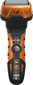 泉精器 Izumi products IZF-V758-D メンズシェーバー A-DRIVE グルーミングシリーズ オレンジ [4枚刃 /国内・海外対応][IZFV758]