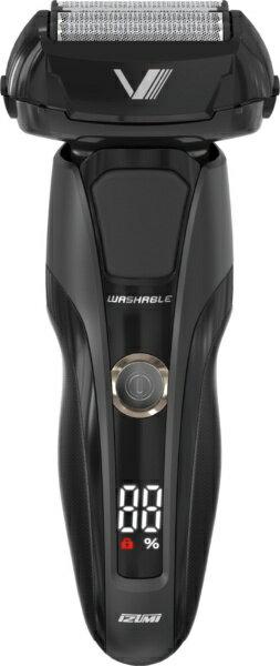泉精器 Izumi products IZF-V948-K メンズシェーバー Z-DRIVE ハイエンドシリーズ ブラック [5枚刃 /国内・海外対応][IZFV948]