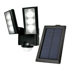 ELPA エルパ ソーラー発電式 LEDセンサーライト 2灯 ESL-312SL [白色 /ソーラー式]