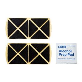 サンワサプライ SANWA SUPPLY 交換用テープ・アルコールパッド(2枚・1枚入り) QL-E94[QLE94]