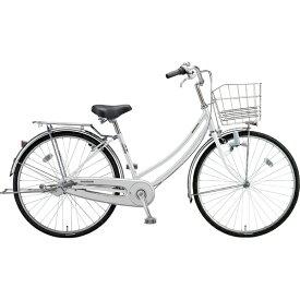 ブリヂストン BRIDGESTONE 26型 自転車 ロングティーン スタンダード W型(P.Xスノーホワイト/3段変速/ブロックダイナモモデル)LT63W【2019年モデル】【組立商品につき返品不可】 【代金引換配送不可】