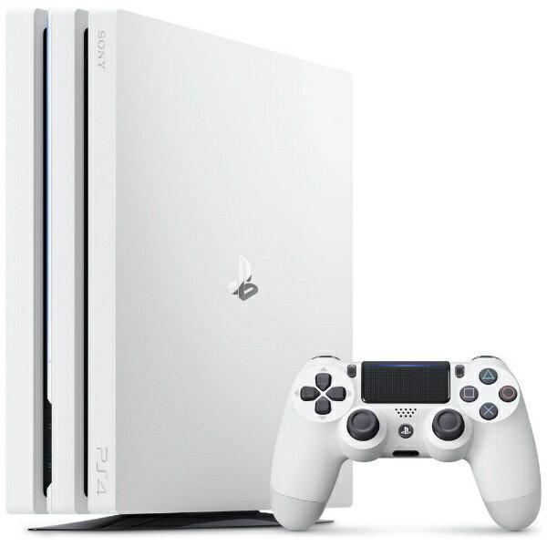 ソニーインタラクティブエンタテインメント Sony Interactive Entertainmen PlayStation 4 Pro (プレイステーション4 プロ) グレイシャー・ホワイト 1TB CUH-7200BB02 [ゲーム機本体][PS4PROグレイシャ・ホワイト1TB][ゲーム機本体]