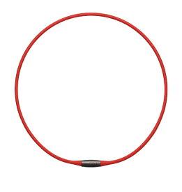 TDK ティーディーケイ 磁気ネックレス EXNAS エクナス(42cm×φ3.4mm/レッド)D1A42RED