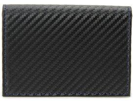 モンテスピガ monte SPIGA monte SPIGA モンテスピガ 名刺入れ MOSQS618ABKBL カーボン調 カードケース ブラック