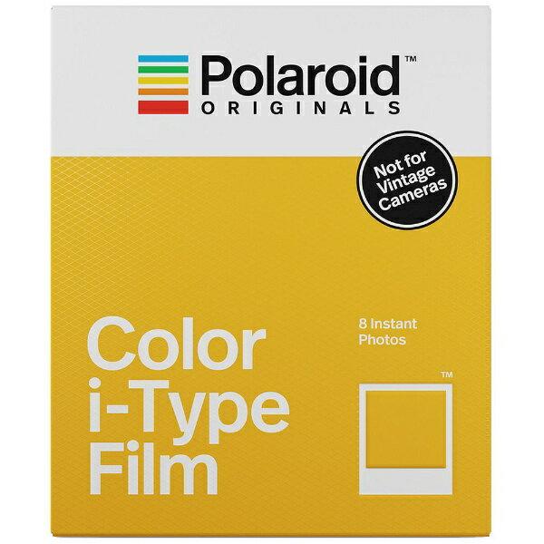 ポラロイド Polaroid Originals インスタントフィルム Color Film For i-Type 4668