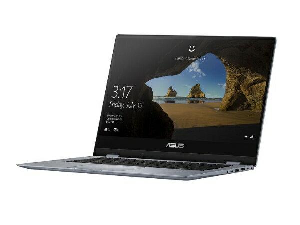 ASUS エイスース TP412UA-S8130 ノートパソコン ASUS VivoBook Flip 14 TP412UA シルバー [14.0型 /intel Core i3 /SSD:128GB /メモリ:4GB /2018年10月モデル][TP412UAS8130]