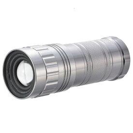 オーム電機 OHM ELECTRIC LHA-SP332Z-S 懐中電灯 ズームライト SPARKLED [LED /単3乾電池×3 /防水]