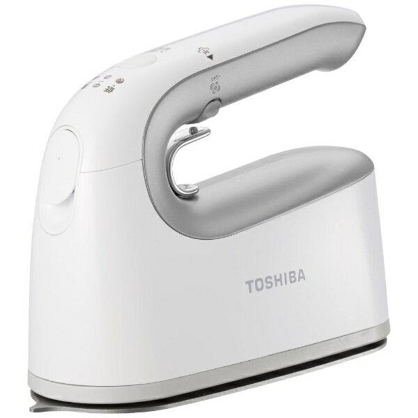 東芝 TOSHIBA TAS-X4-S 衣類スチーマー La・Coo S シルバー [ハンガーショット機能付き][ハンディアイロン コードレス ラクーエス TASX4S]
