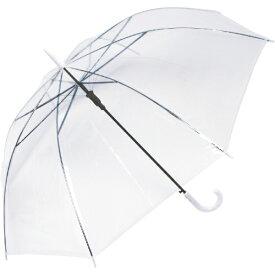 中谷 NAKATANI ビニール長傘 ジャンプ式 VINYL WHITE POE-60W [雨傘 /60cm]