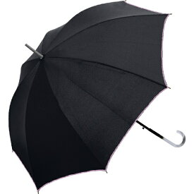 中谷 NAKATANI 【傘】無地 オーバーロック・58cm 60093-18 ブラック