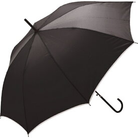 中谷 NAKATANI 【傘】無地 パイピング・58cm 60169-18 ブラック