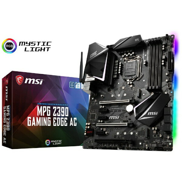 MSI エムエスアイ ゲーミングマザーボード MPG Z390 GAMING EDGE AC [ATX /1151][MPGZ390GAMINGEDGE]