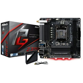 ASROCK アスロック ゲーミングマザーボード Z390 Phantom Gaming-ITX/ac Z390PhantomGamingI [MiniITX /1151][Z390PHANTOMGAMINGI]
