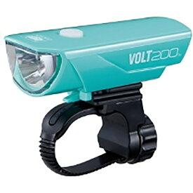 キャットアイ CATEYE USB充電式LEDライト VOLT200(チェレステ) HL-EL151RC
