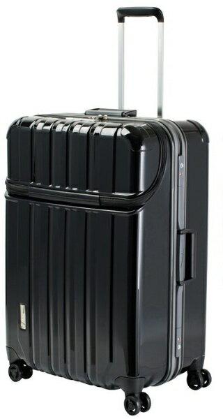 協和 スーツケース TRUSTOP 7620431 ブラック [100L]