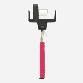 ロジック Logic Selfo 自分撮りモノポッド 遠隔操作シャッター付 LG-SF1-P ピンク