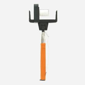 ロジック Logic Selfo 自分撮りモノポッド 遠隔操作シャッター付 LG-SF1-O オレンジ