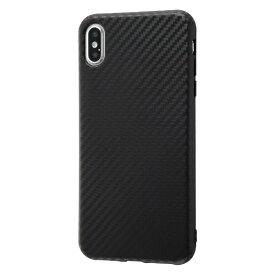 イングレム Ingrem iPhone XS Max 耐衝撃ケース エアリータフ カーボン/カーボンブラック INA-P19CP3/CB カーボンブラック