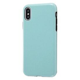 イングレム Ingrem iPhone XS/X 耐衝撃ケース エアリータフ ラメ/ペールブルー INA-P20CP2/PA ペールブルー