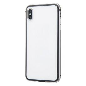 イングレム Ingrem iPhone XS Max アルミバンパー+背面パネル/ブラック INA-P19AB/BM ブラック