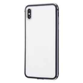 イングレム Ingrem iPhone XS Max アルミバンパー+背面パネル/ダークネイビー INA-P19AB/DNM ダークネイビー