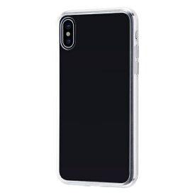 イングレム Ingrem iPhone XS/X ハイブリッドケース クリアタフ/クリア INA-P20CC2/CM クリア