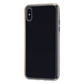 イングレム Ingrem iPhone XS/X ハイブリッドケース クリアタフ/ブラック INA-P20CC2/BM ブラック