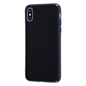 イングレム Ingrem iPhone XS/X ハイブリッドケース クリアタフ/ダークネイビー INA-P20CC2/DNM ダークネイビー