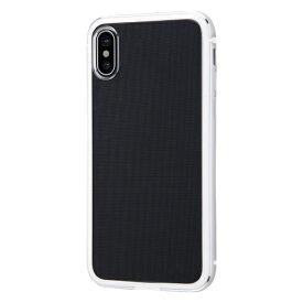 イングレム Ingrem iPhone XS/X アルミバンパー+背面パネル/シルバー INA-P20AB/SVM シルバー