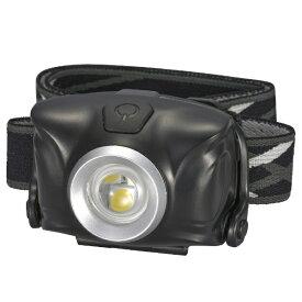 オーム電機 OHM ELECTRIC ヘッドライト LC-SYW1-K [LED /単4乾電池×3 /防水]
