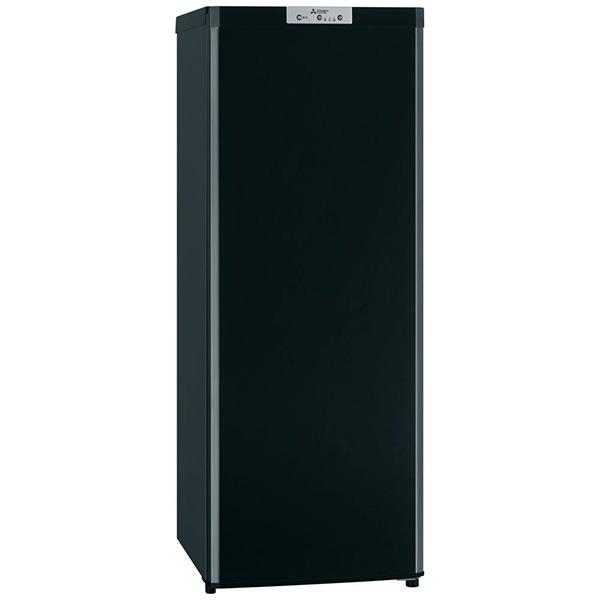 三菱 Mitsubishi Electric MF-U14D-B 冷凍庫 ブラック [1ドア /右開きタイプ /144L][MFU14DB]
