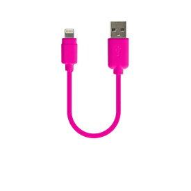 樫村 KASHIMURA USB充電&同期ケーブル 10cm LN PK [0.1m]