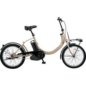 パナソニック Panasonic 20型 電動アシスト自転車 SW(デザートイエロー/シングルシフト) BE-ELSW01【2019年モデル】【組立商品につき返品不可】 【代金引換配送不可】